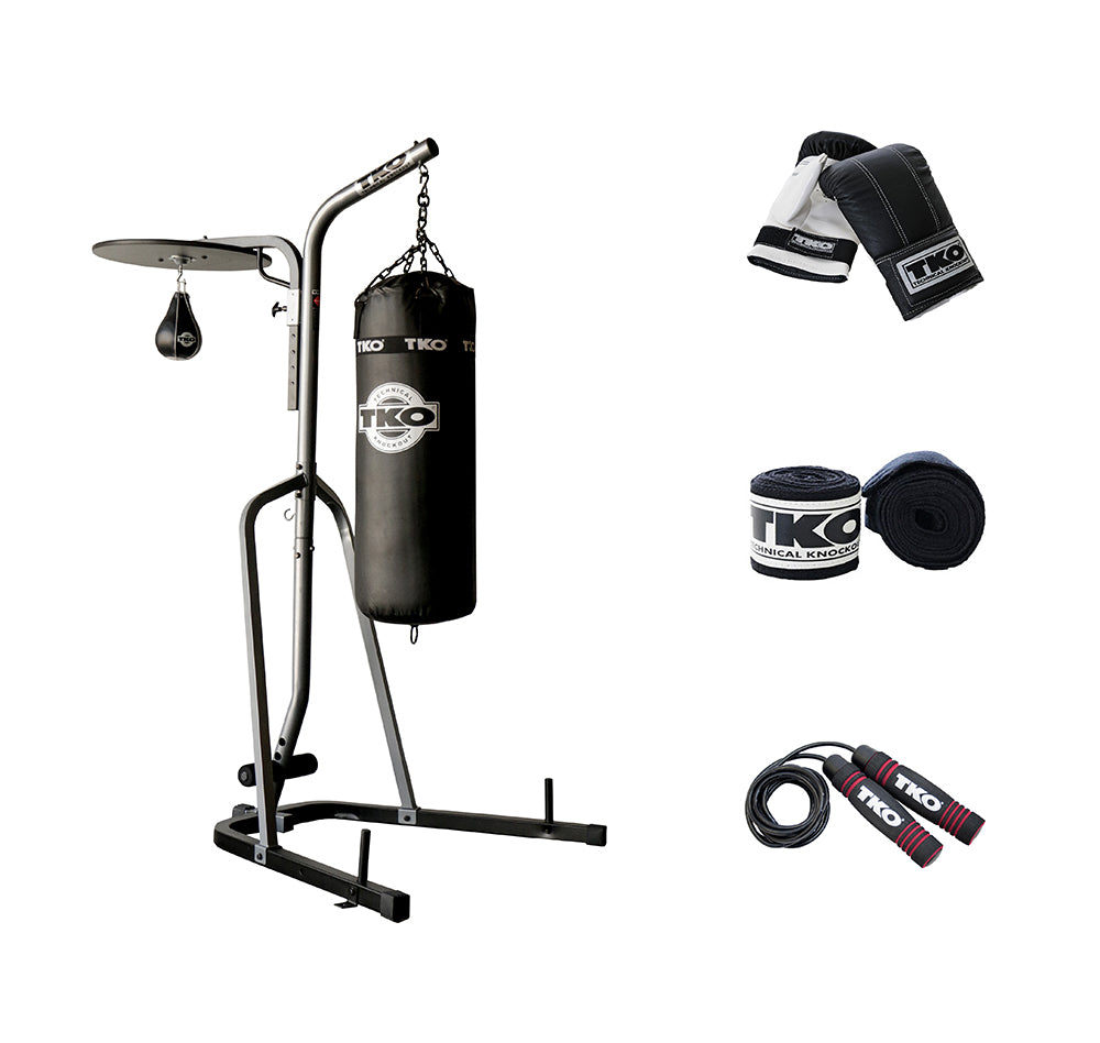 Heavy Bag Stand w/Platform Boxing Package