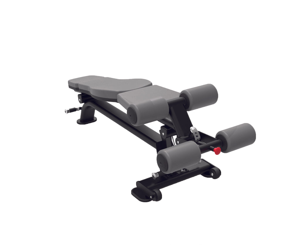 SS Adjustable Decline Bench