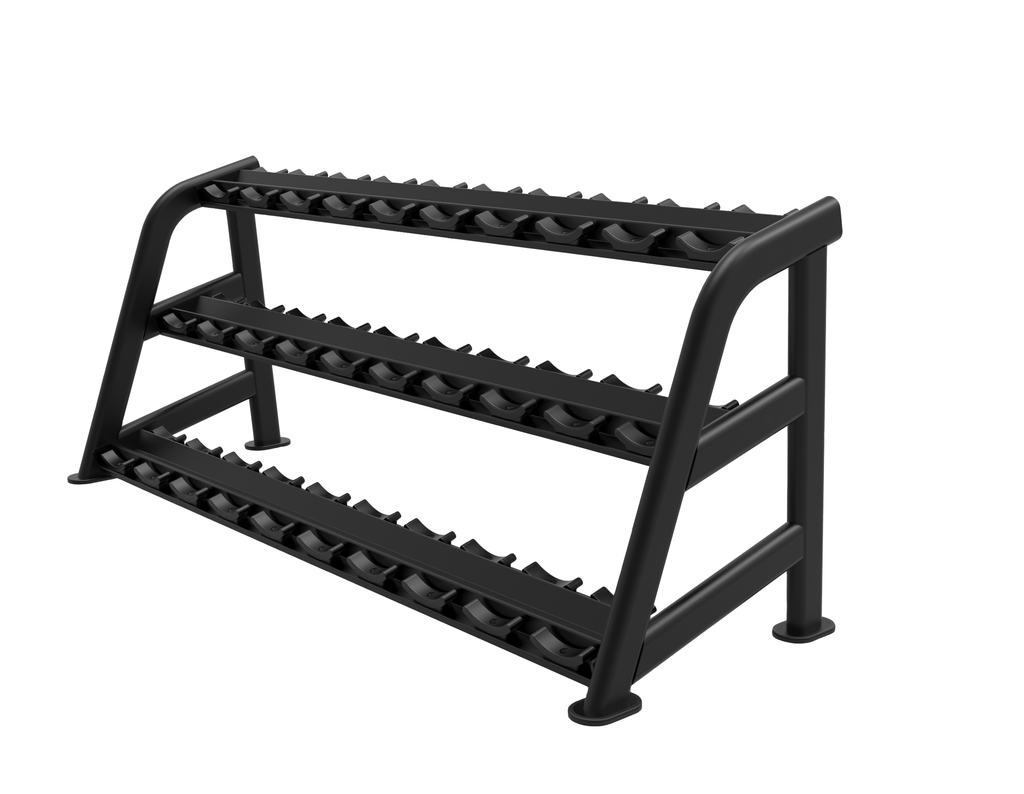 15 Pair Signature Dumbbell Saddle Rack