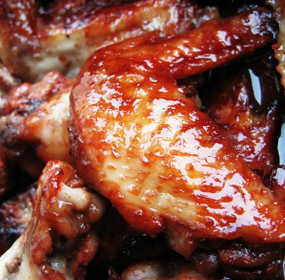 Sticky Hoisin Roast Chicken Wings