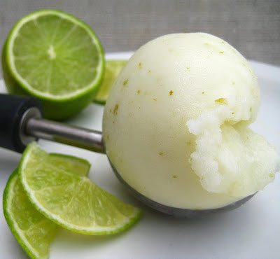 Smooth Homemade Lime Sorbet (No Ice Cream Maker)