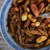 Crispy Anchovies and Wok-Roasted Peanuts
