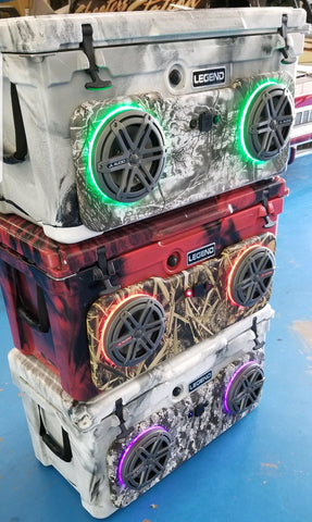75 QLC CUSTOM RADIO COOLER