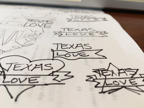 Texas Love Logo Inspiration Ideas