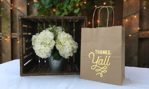 Texas Wedding Bags | Gift Favor Bags