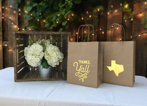 Texas Moving Gift Bags | Moving to Texas