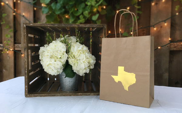 Texas Gift Bag | Texas Wedding and Event Gift Bags