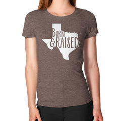 Born and Raised Graphic Texas T-Shirt