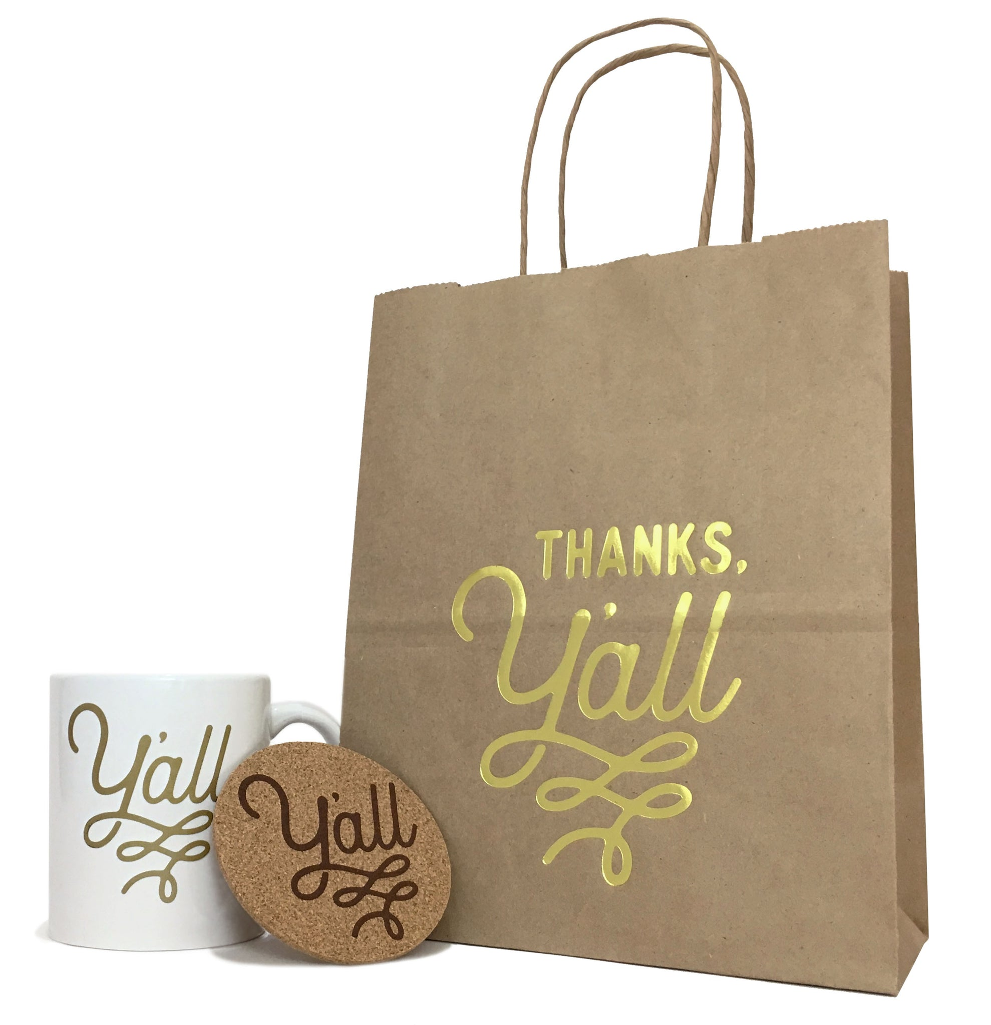 Thank You Gifts At Weddings: Thank You Gift Bag In Kraft