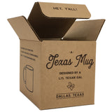 Texas Mug Y'all Coffee Mug Gold Design 11 oz Mug with Texas Gift Box
