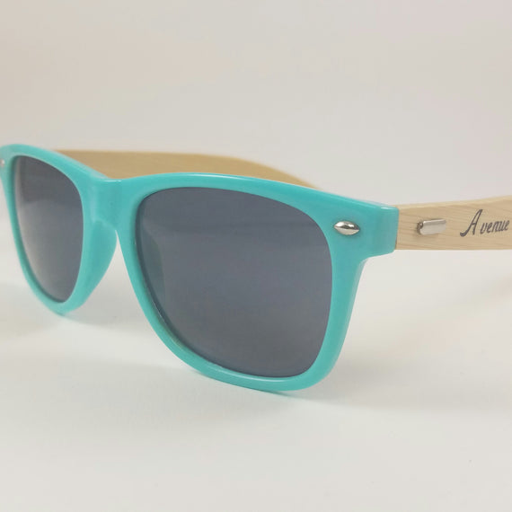 AVENUE PERFORMANCE MINTY & BAMBOO SUNGLASSES