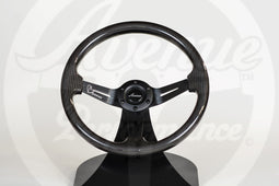 AVENUE STEERING WHEEL CARBON FIBER/ BLACK SPOKES AS-IS