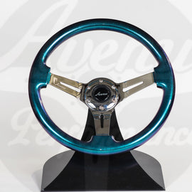AVENUE OPAL/ CHROME SPOKES STEERING WHEEL