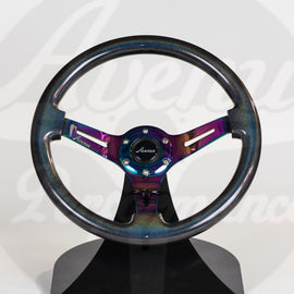 AVENUE STEERING WHEEL STARDUST/ NEOCHROME SPOKES