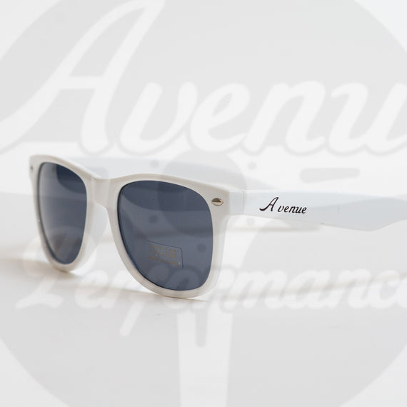 AVENUE PERFORMANCE WHITE LOGO SUNGLASSES