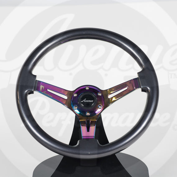 AVENUE TITANIUM/ NEOCHROME SPOKES STEERING WHEEL