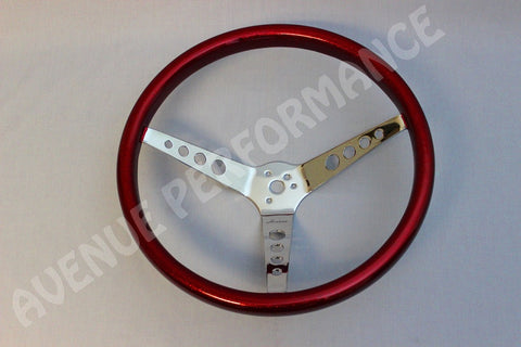 AVENUE VINTAGE STEERING WHEEL RED