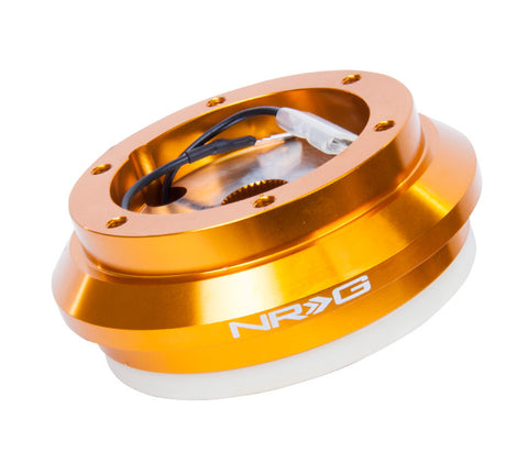 SRK 130H/RG NRG ROSE GOLD SHORT HUB FOR HONDA/ ACURA NO RESISTOR