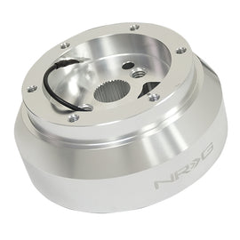 SRK 170H NRG SHORT HUB SILVER FOR DODGE, GM, CHEVY, JEEP