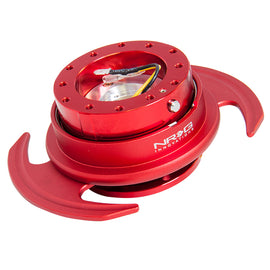 NRG 3.0 SERIES QUICK RELEASE RED BODY W/ RED RING SRK-650RD