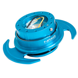 NRG 3.0 SERIES QUICK RELEASE BLUE BODY W/ BLUE RING SRK-650NB
