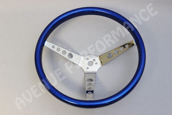 AVENUE VINTAGE STEERING WHEEL BLUE