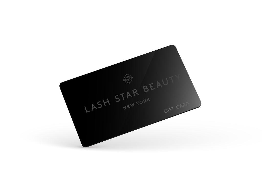 Lash Star Gift Card -- Available in $10, $25, $50, and $100 denominations