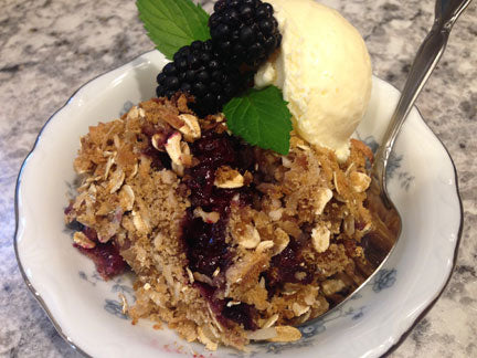 Blackberry Honey Crunch