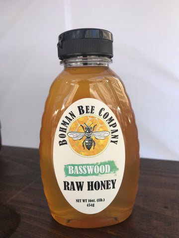 Basswood Honey