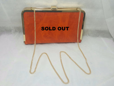 Clutch Zoe Orange - Bestitem.co