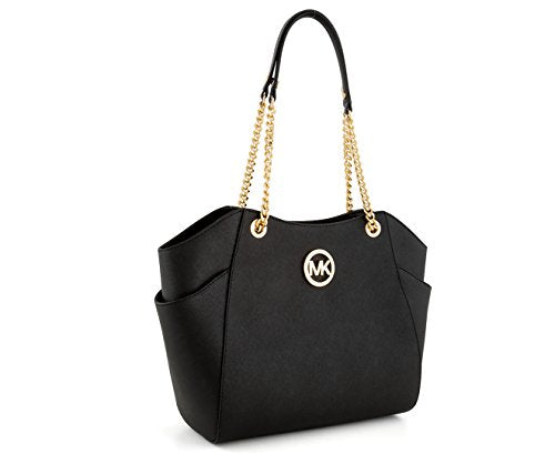 Michael Kors Women's Jet Set Travel Saffiano Large Chain Shoulder Tote, Style 35T5GTVT3L