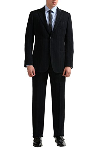 Armani Collezioni Men's Striped Two Button Suit