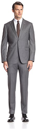 Z Zegna Men's Pinstripe Notch Lapel Suit
