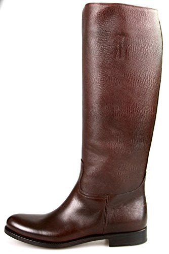Prada Women's 1W948D Saffiano Leather Boots