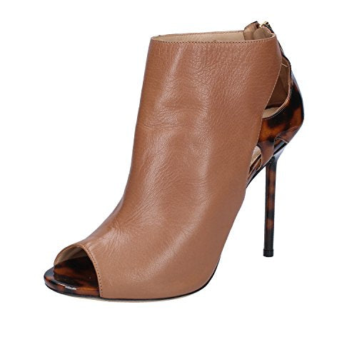 Sergio Rossi Boots Womens Leather Brown