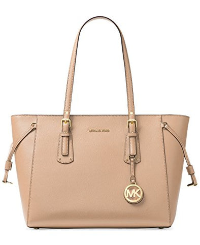 Michael Kors Voyager Multifunction Top-Zip Tote (Oyster)
