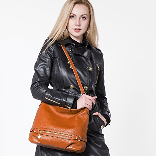 Genuine bucket bag leather, Handbags for Women Large Designer Shoulder Bag