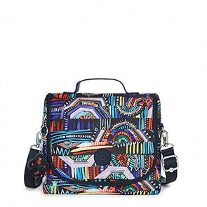 Kipling Kichirou Printed Lunch Bag One Size Graffiti Waves