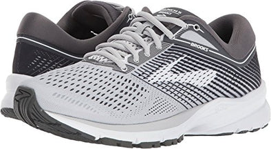 Brooks Women's Launch 5 Grey/Ebony/White 9 B US