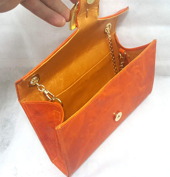 Handbag Colleen Orange - Bestitem.co