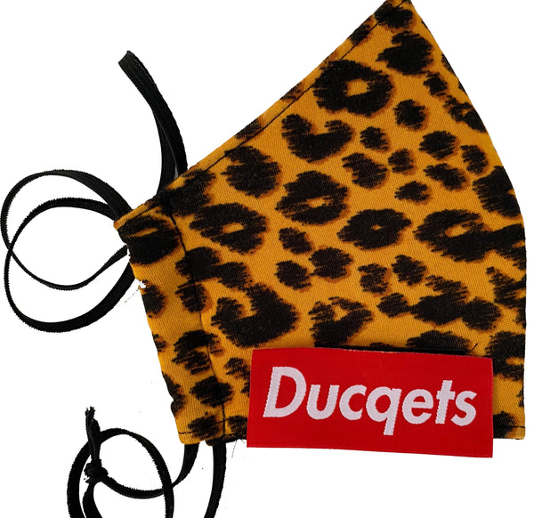 Fashion Masq (Cheetah) - Ducqets