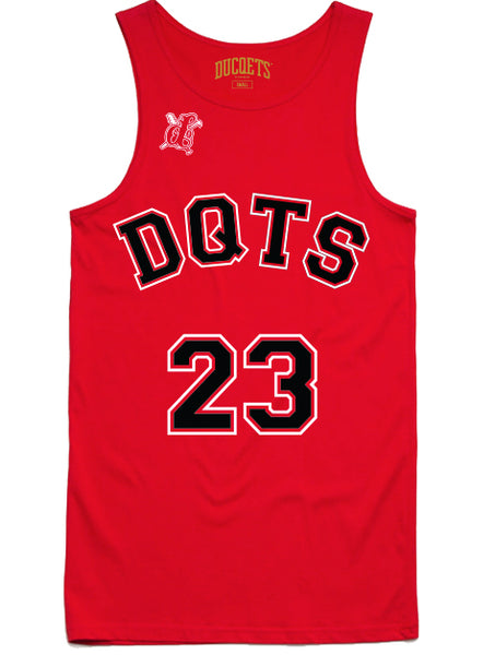 23 DQTS Chicago | Men's Red Tanq Top