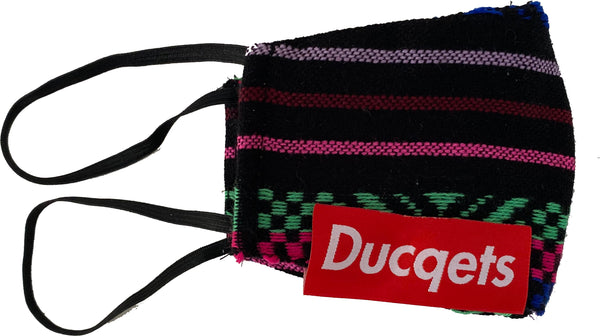 Fashion Masq (Mexican Florescent Pattern) - Ducqets