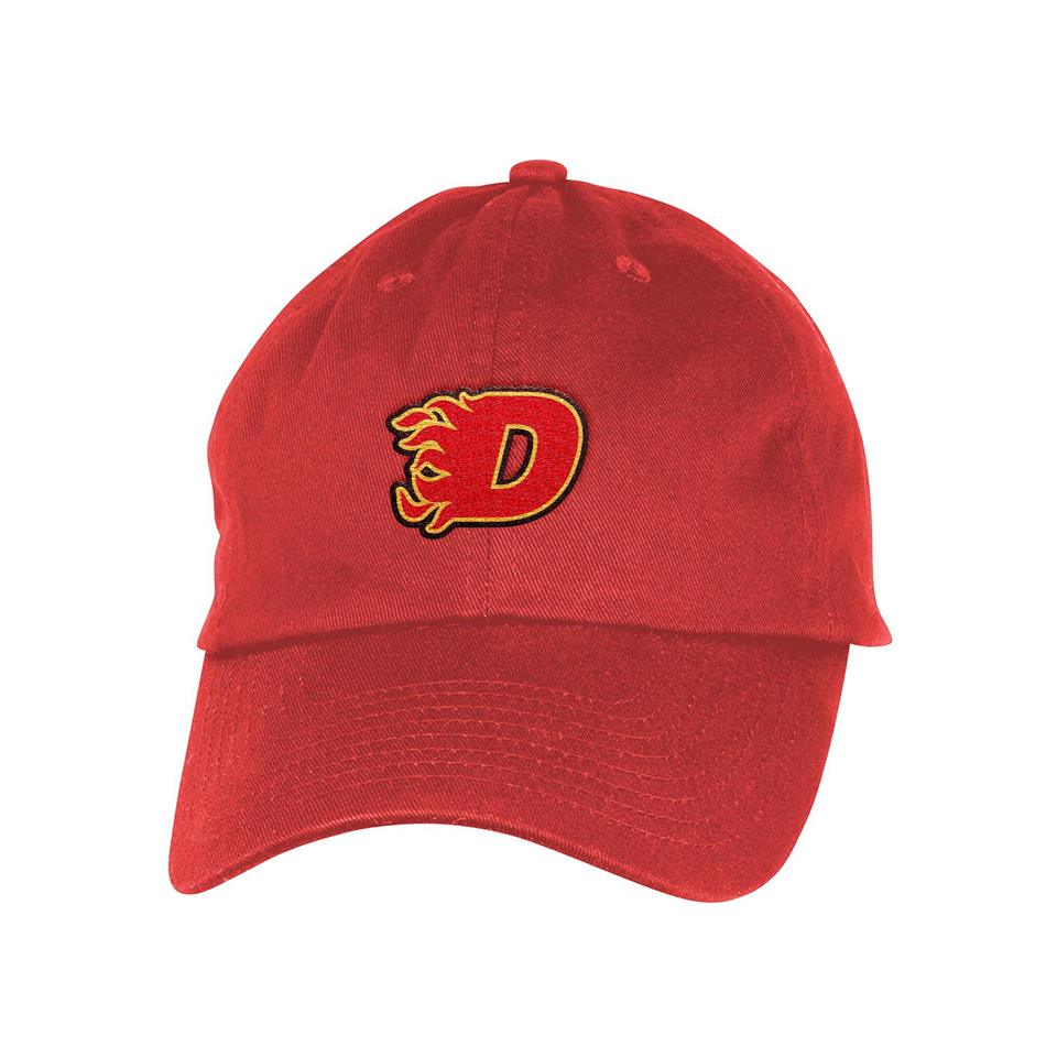 D Flame Dad Hat