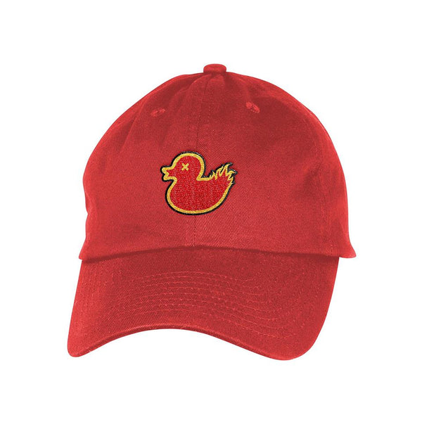 Flame Ducqie Dad Hat - Ducqets