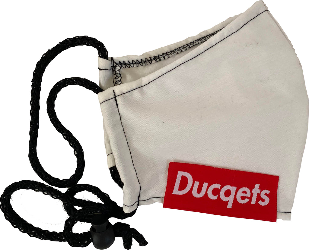 Fashion Masq (White) - Ducqets