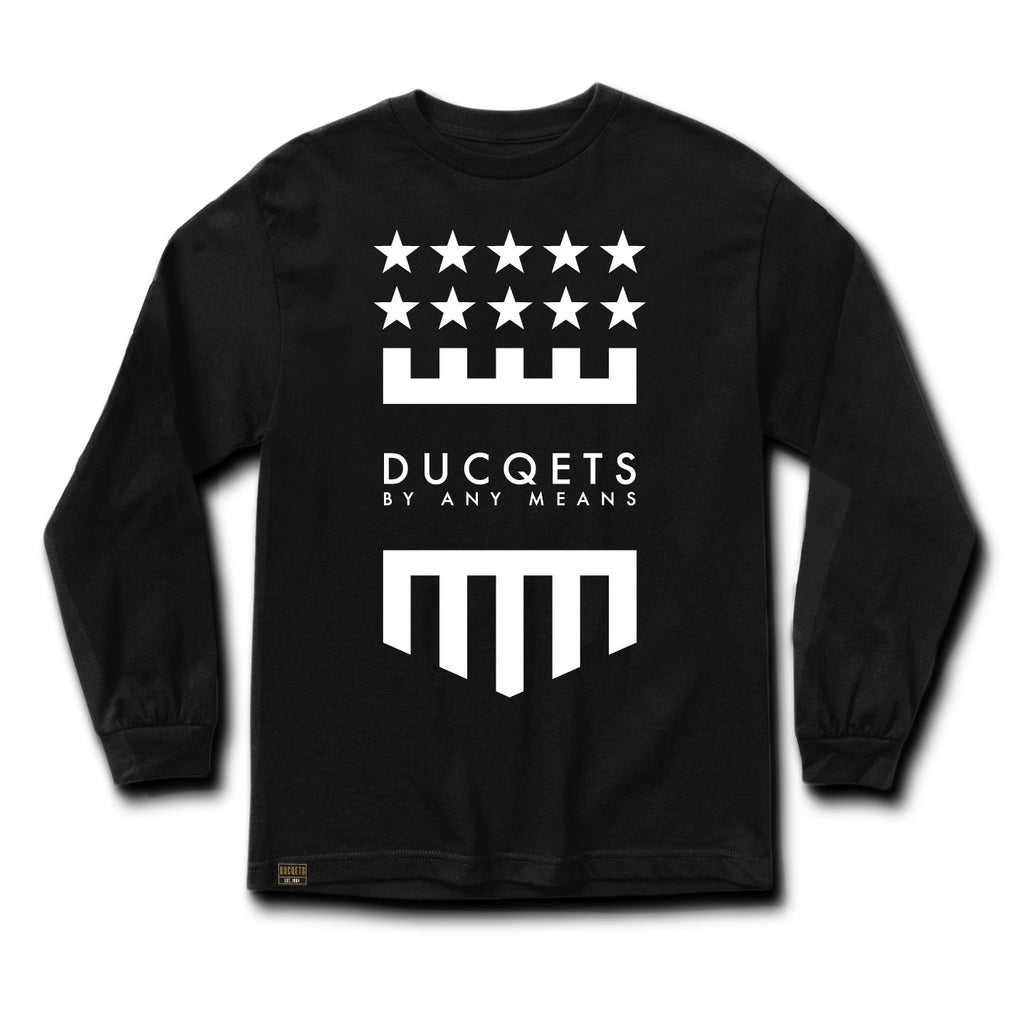 Badge Long Sleeve T-Shirt - Ducqets