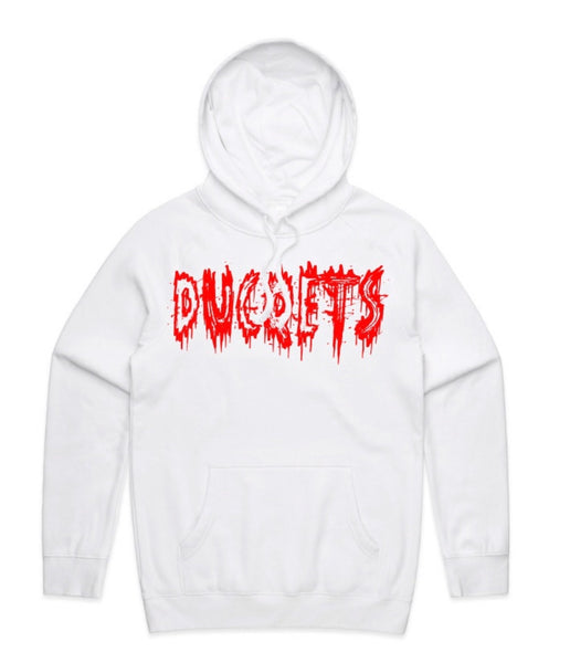 bloody ducqets White Hoodie