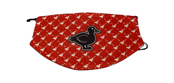Red Ducq Pattern Masq Double-sided