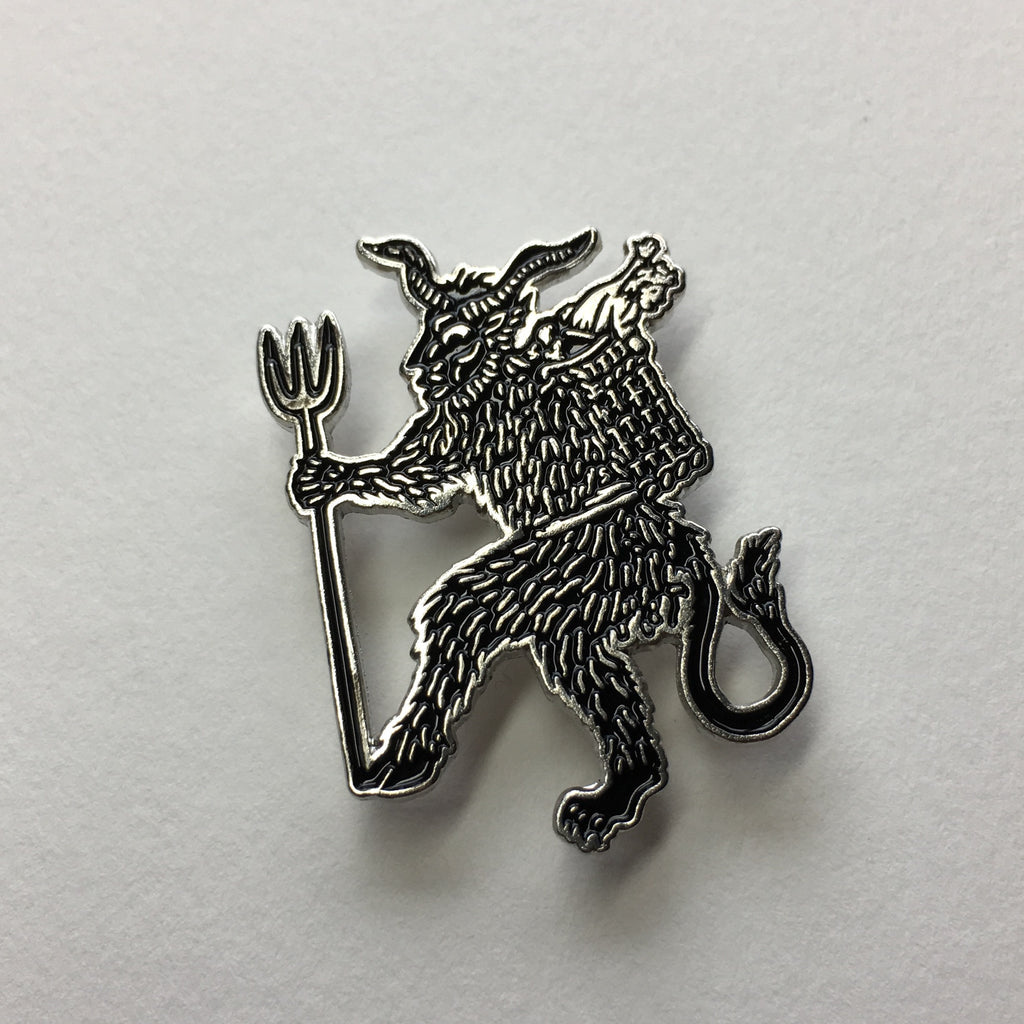 Krampus Enamel Pin Liv Rainey-Smith